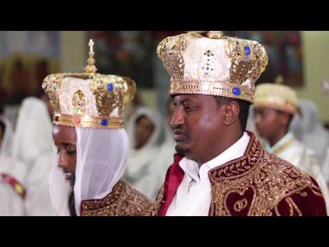 Dn. Dawit Fantaye + Meron Tesfaye Wedding Sample: Ethiopian Orthodox Tewahedo Church