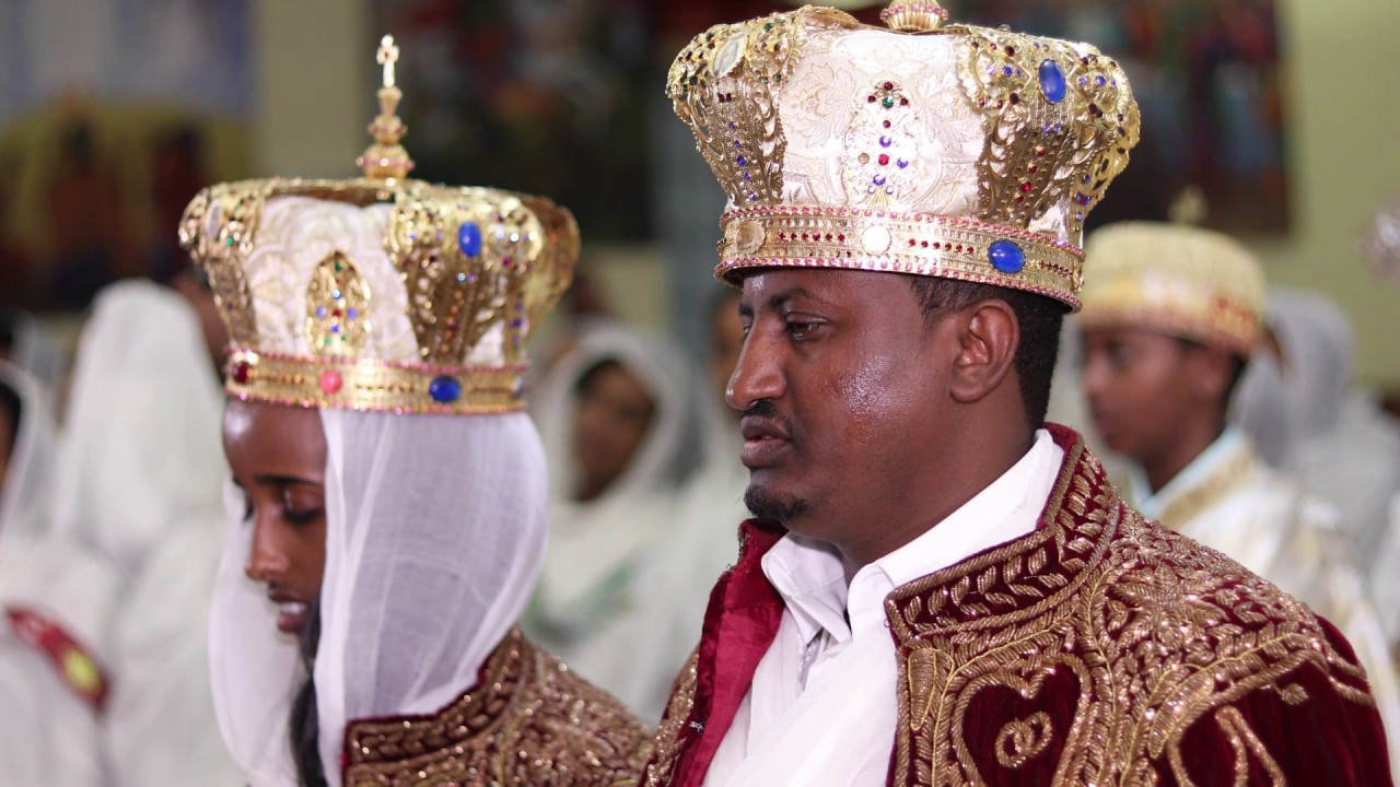 Dn Dawit Fantaye Meron Tesfaye Wedding Sample Ethiopian Orthodox Tewahedo Church You