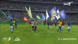 دوري بلس - احتفال اليوم الوطني قبل مباراة الأهلي و الاتحاد في الجولة 4 من دوري جميل