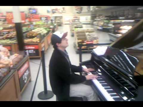 Me + Piano + Walmart + 1am