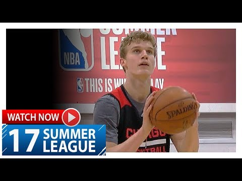 Lauri Markkanen Full Highlights vs Wizards (2017.07.11) Summer League - 20 Pts, 10 Reb