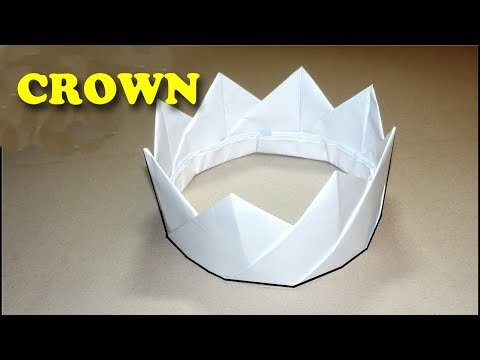 How To Make A Crown Out Of Paper