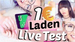 Was taugt der 1€ LADEN?? LIVE TEST ✅ | ViktoriaSarina