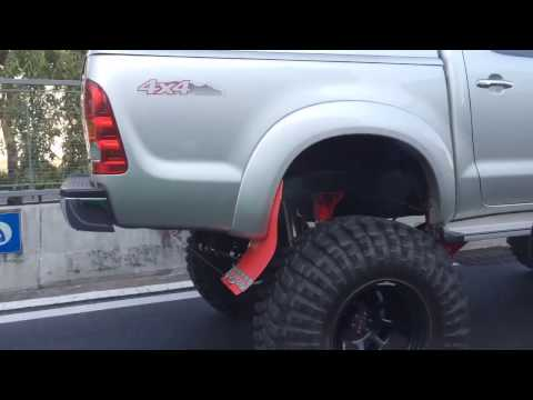 Toyota Hilux xtra lifted in Bangkok