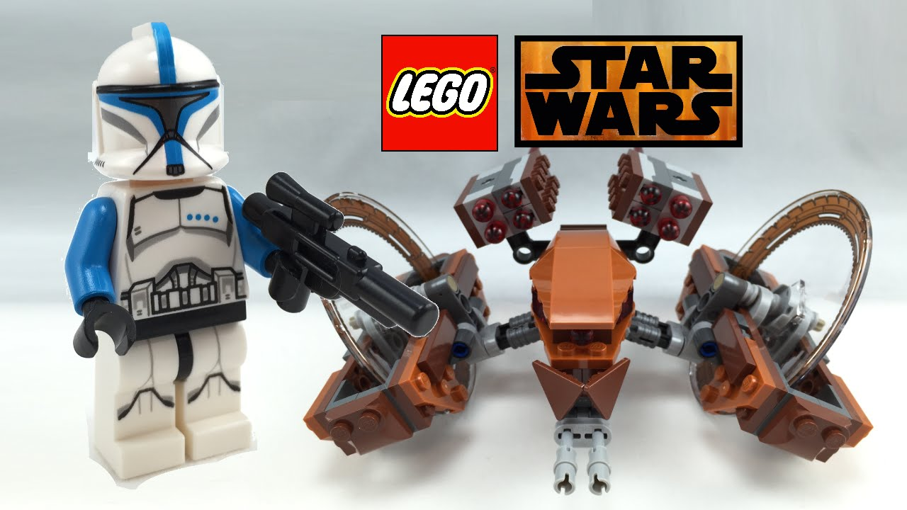 lego star wars hailfire droid 2015 review! 75085 - youtube