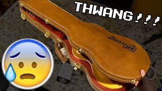 A Sound You Don't Want to Hear While Unboxing New 2019 Gibson Guitars | Trogly's Vlogly Ep. 15
