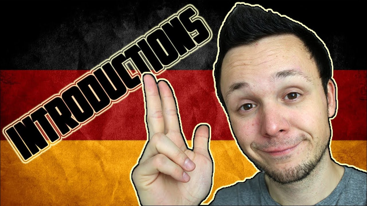 Introductions learn german for beginners lesson 2 youtube kristyandbryce Choice Image