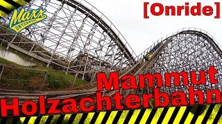 [Onride] Mammut | Holzachterbahn | Trips Drill |  Front Seat | POV