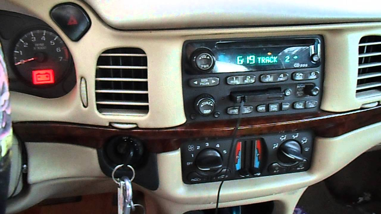 chevy impala radio no sound and no door chime fix vid3 [ 1280 x 720 Pixel ]