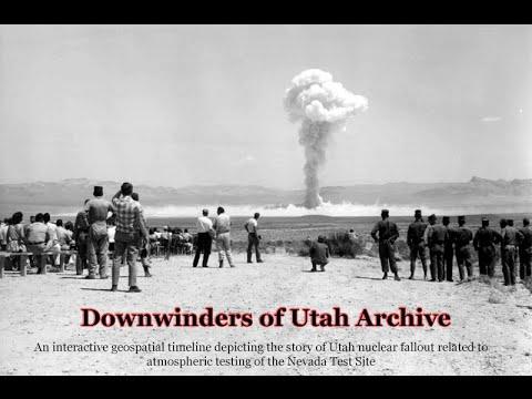 Downwinders of Utah Archive Presentation