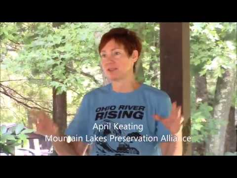 Ohio River Rising encampment in the Wayne National Forest