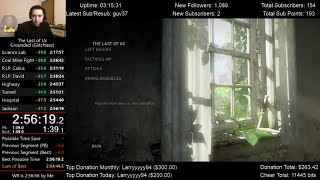 The Last of Us Speedrun World Record! (2:56:19) on Grounded mode (Glitchless)