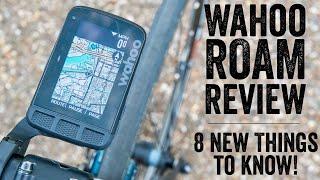 Wahoo ELEMNT ROAM Review: 8 New Things // Hands-on Walkthrough