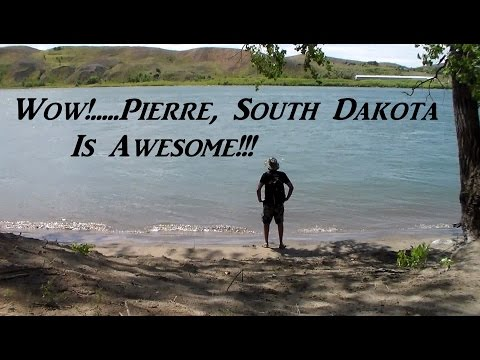 Exploring An Island In Pierre, South Dakota Van Life