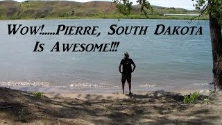 Exploring an Island in Pierre, South Dakota Van Life