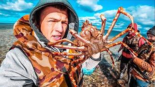 Сахалин. Браконьеры и горы устриц. Южно-Сахалинск. Большая рыбалка