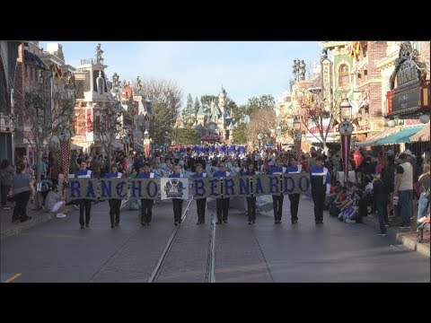 Rancho Bernardo High School Royal Regiment - Disneyland January 2019