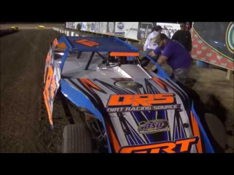 Salina Speedway M&H Motors IMCA Northern SportMods *Heat races and Feature* 4-14-17