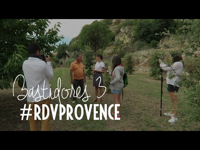 Bastidores do vídeo do frango trufado do #RDVPROVENCE