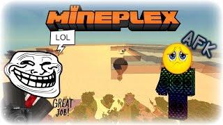 Cloudy's Life-Trolling spacechicken27 on Mineplex (My friend)