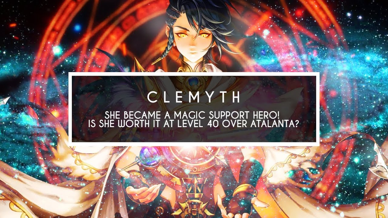 [SEVEN KNIGHTS] CLEMYTH ~Can she replace a Lvl 50 Atalanta?~