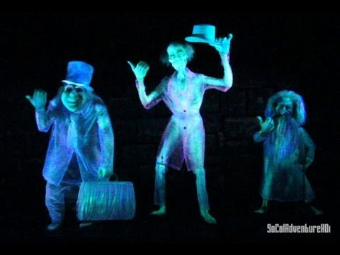 [Ultra HD] Haunted Mansion Ride Ultra Clarity POV at Disneyland Resort.