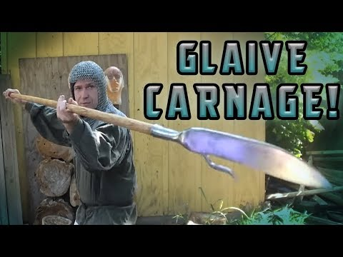 Glaive Polearm Carnage Test!