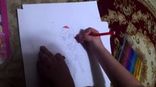 Как нарисовать Радуга дэш(Саша Р рисует., 2015-03-25T17:12:40.000Z)