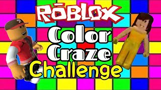 Roblox Color Craze Challenge!