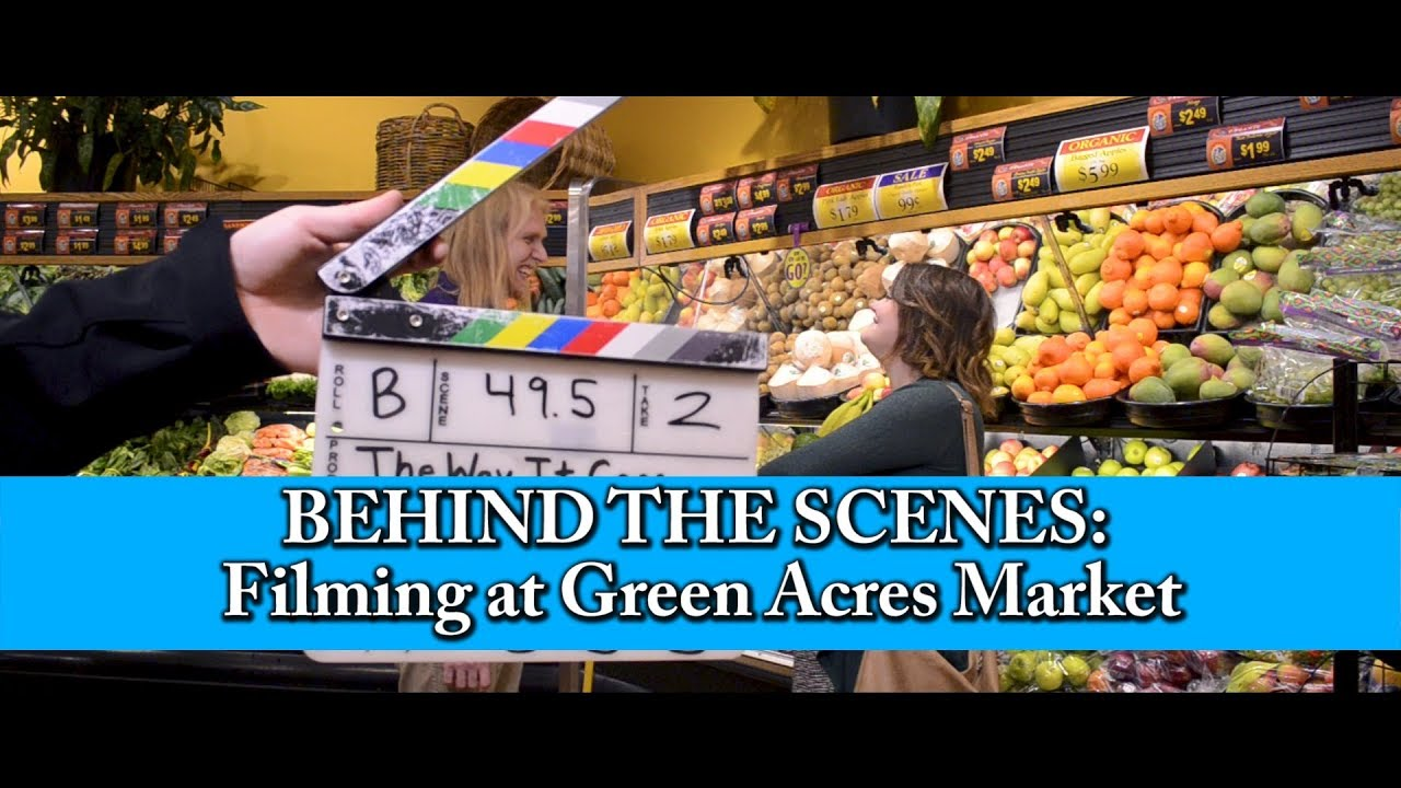 Behind the Scenes | Filming in a Grocery Store | Film Festival Announcement