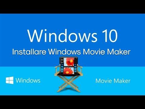 Installare Windows Movie Maker Su Windows 10
