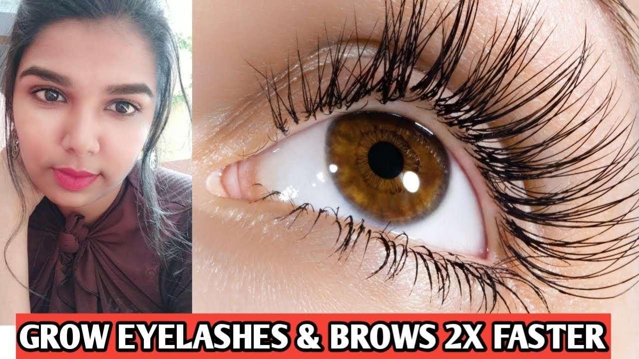 How to grow eyelashes and eyebrows fast Tamil | Eyebrow ...