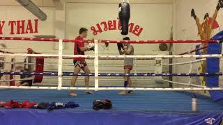 Ali Taheri Sparinig in Arena Thai gym Switzerland 🙏💪🇨🇭🇦🇫