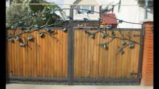 видео Заборы Одесса – калитки, ограждения кованные заборы в Одессе