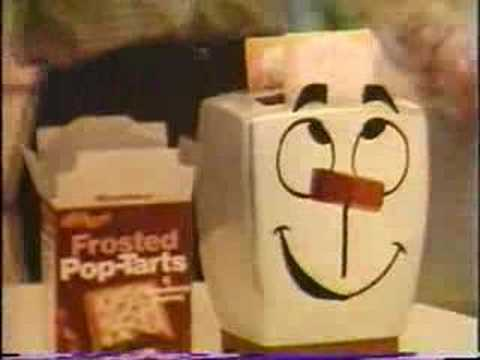 Pop Tarts Tv Commercial 1975 76 With Milton The Toaster