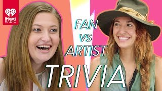 Lauren Daigle Goes Head to Head With Her Biggest Fan! | Fan Vs Artist Trivia
