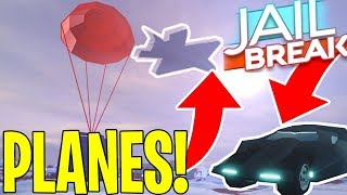 JAILBREAK WINTER UPDATE *NEW* INFO! (ROBLOX) PLANES | AIRDROPS | BATMOBILE | NEW MAP!