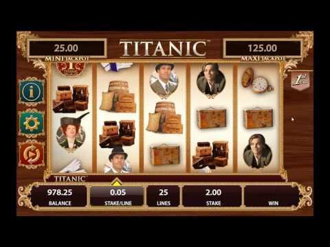 Titanic slot from Bally - Gameplay