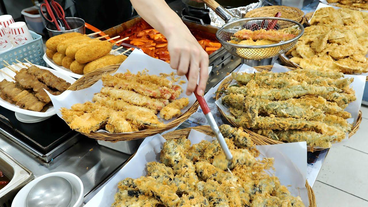 열정가득 사장님의 수제튀김, 양념부터 직접 만드는 떡볶이집 몰아보기 | How Spicy Tteokbokki made | Korean Street food