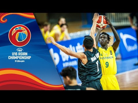 LIVE 🔴 - Australia v New Zealand - Semi-Finals - FIBA U16 Asian Championship