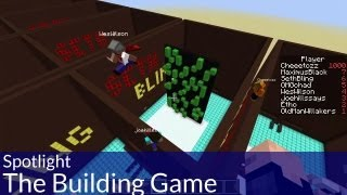 Spotlight: The Building Game in Minecraft