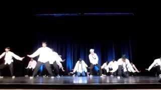 CSDC Freestyle team @ BDCP's I Can B'more: Urban Dance Concert '14
