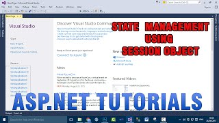 ASP.NET VB.NET Tutorials - State Management Using Session Object