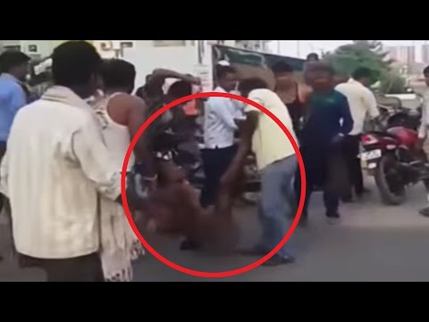 Worker NAKED in Public & ATTACKED by Contractor | Shocking Video thumbnail