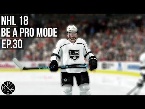 NHL 18 Be A Pro - Los Angeles Kings vs Chicago Blackhawks Ep.30 (Xbox One X)