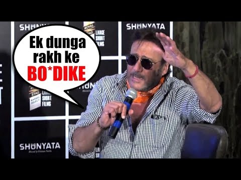 Jackie Shroff Abusing, Angry And Funny Moments With Media