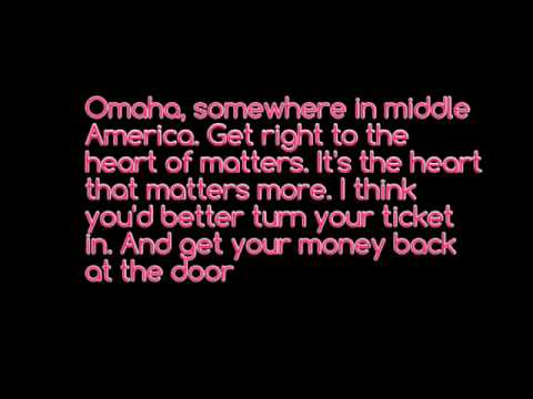 Omaha lyrics: Counting Crows