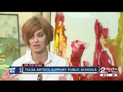 On the Road: Tulsa Artists Support Public Schools