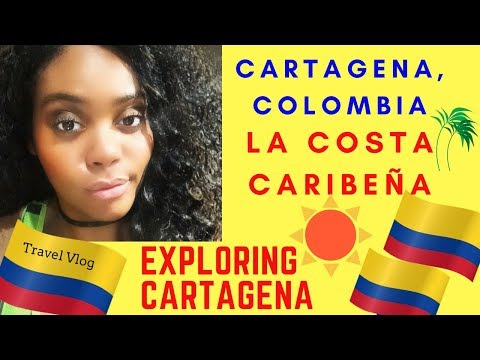 COLOMBIA TRAVEL: SOMEWHERE IN THE HOOD IN CARTAGENA | Keep Your Promises | Chanelle Adams