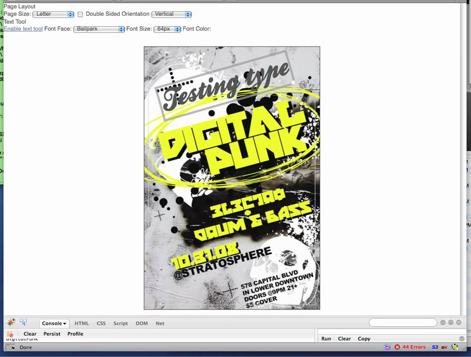 flyer editor oker whyanything co